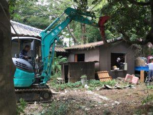 小屋解体1