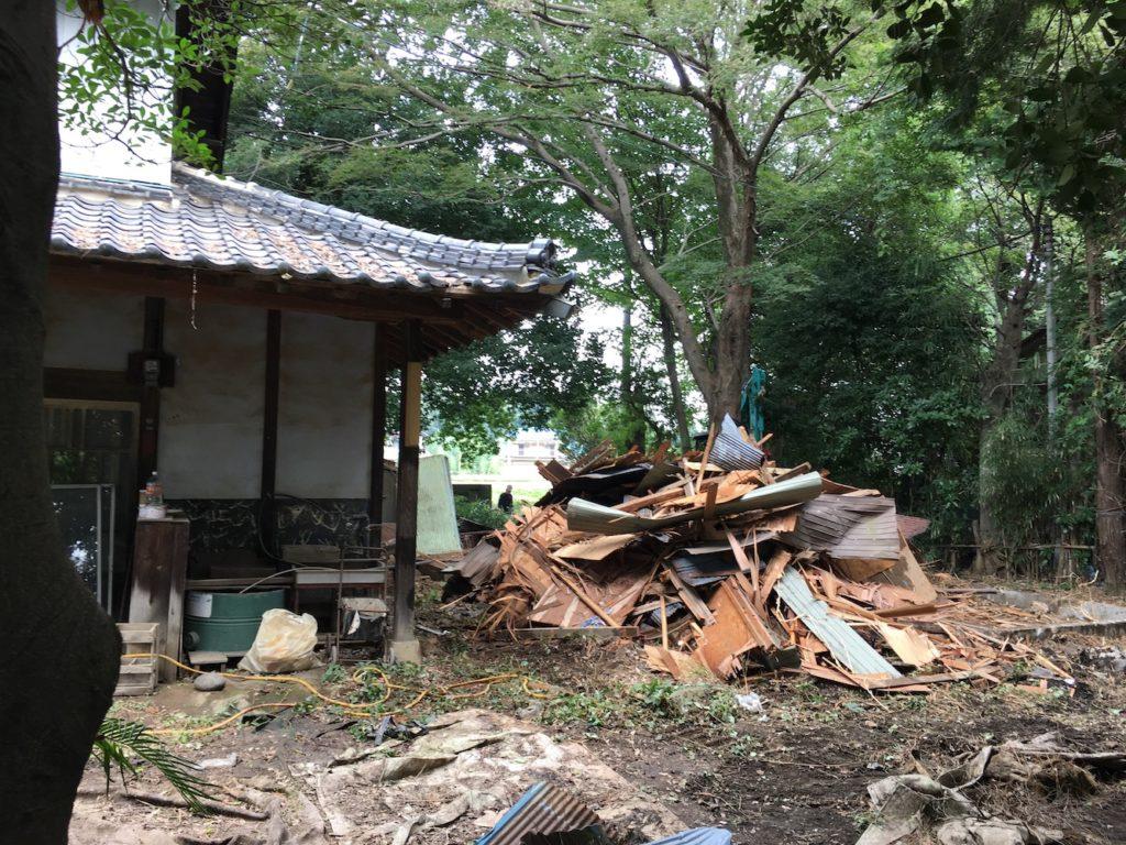 小屋解体2