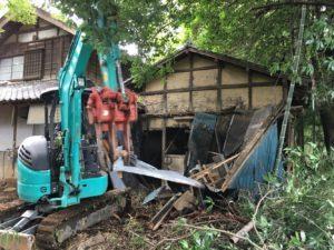 小屋解体3