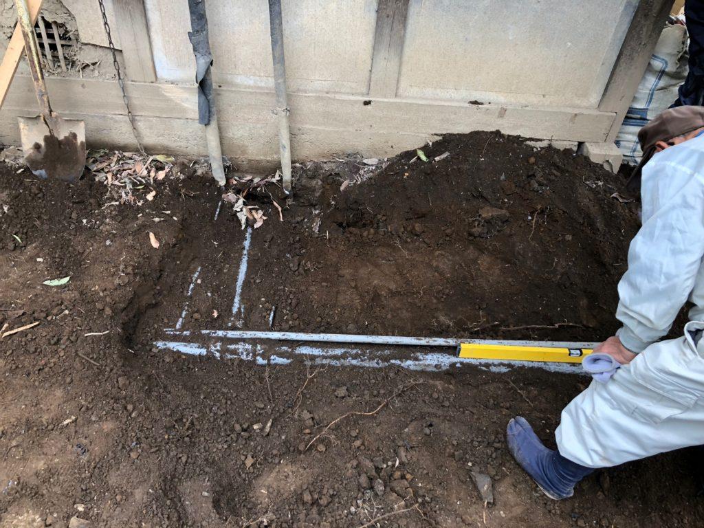 井戸からの給水管02