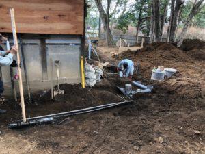 井戸からの給水管04