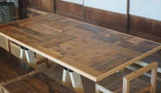 古材を使ったモザイクテーブルの作り方 5ステップ|コバリラボDIY